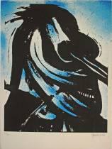 John Christoforou, composition, lithographie