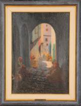 Gustave Lino, scène orientaliste