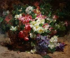 Georges Jeannin, peintre de fleurs