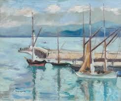 Henri Manguin, Saint-Tropez, peinture