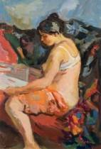 Pierre Cornu, peintre aixois passionné des femmes