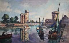 Henri Pontoy, marine, tableau