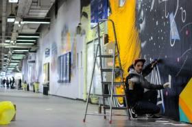 Quand le street art transforme la gare du Nord