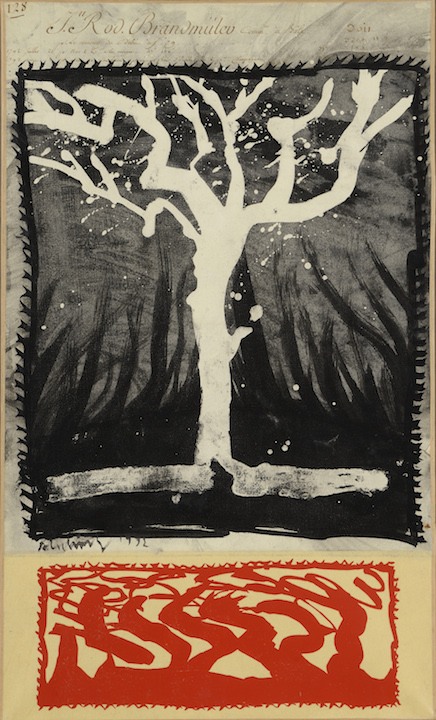 Pierre alechinsky l arbre de monsieur brandmuller for Alechinsky oeuvres