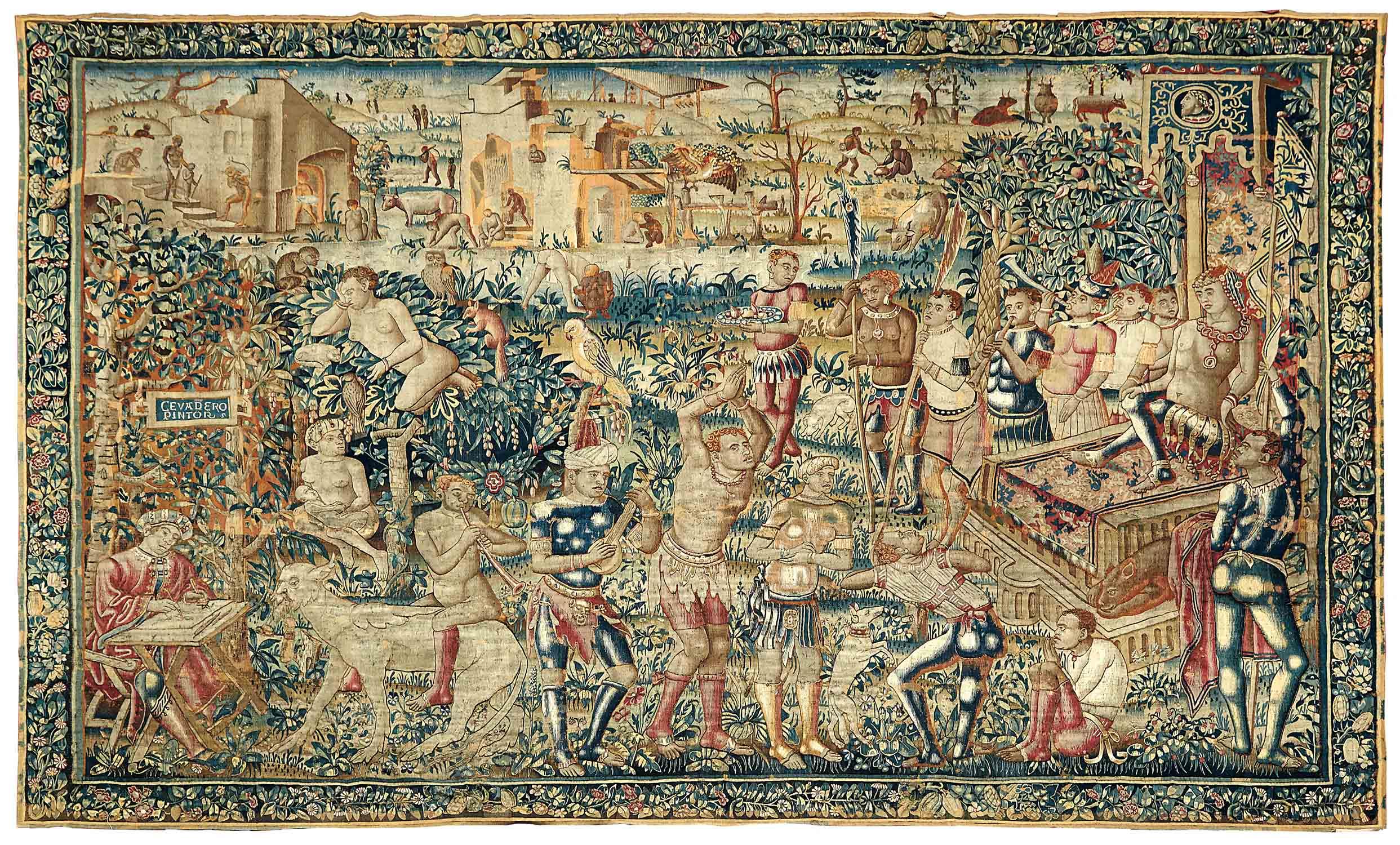 Tapisserie tournai for Comment enlever de la tapisserie