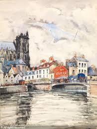 Frank will amiens aquarelle for Artiste peintre amiens