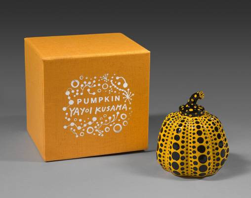 Kusama, Pumpkin Yellow & Black