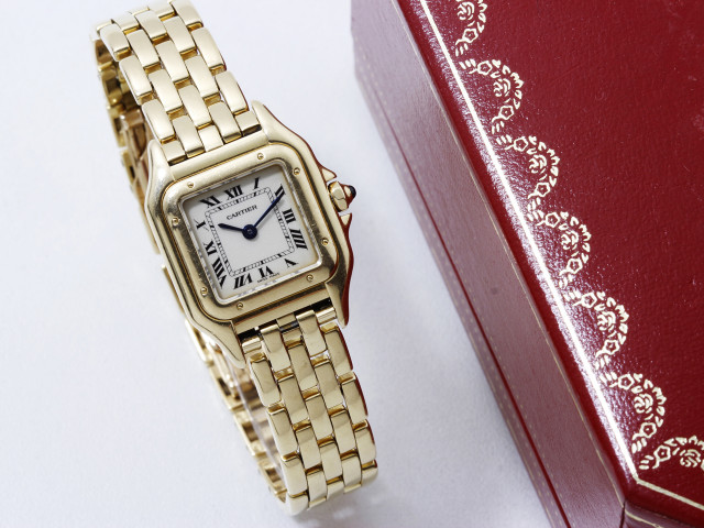 Cartier, montre Panthère or