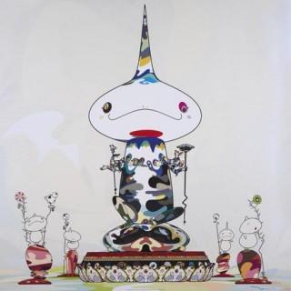 Takashi MURAKAMI - Reversed double Helix Mega Power, 2005 - Sérigraphie