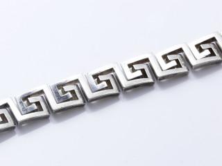 Hermes, bracelet argent