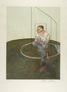 Francis Bacon, portrait John Edwards