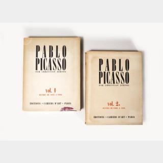 Pablo Picasso par Christian Zervos, volumes 1 et 2