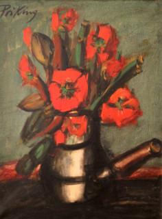 Priking et Kvapil, deux tableaux de fleurs, vente aux enchères le 27 mai !