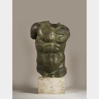 Igor MITORAJ (1944-2014) - Persée - Sculpture en bronze