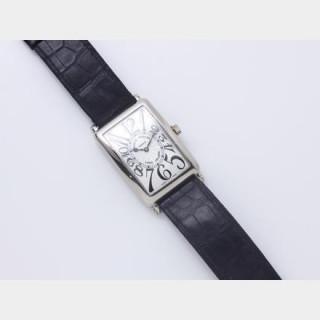 FRANCK MULLER ''LONG ISLAND N° 868'' Montre bracelet d'homme en or gris
