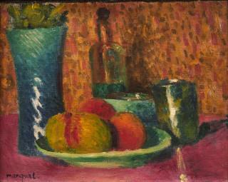 Albert Marquet, nature morte aux pommes, tableau