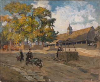 Arthur Midy, les Halles du Fouet, vente aux enchères