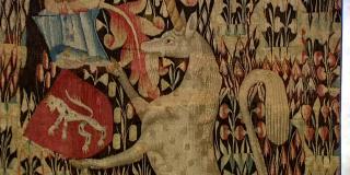 Tapisserie mille fleurs du XVème siècle au musée d'Aubusson