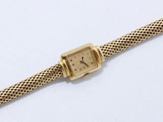 Boucheron, montre de dame or