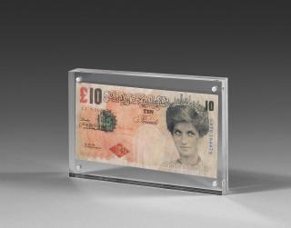Banksy, 10 pounds, vente aux enchères