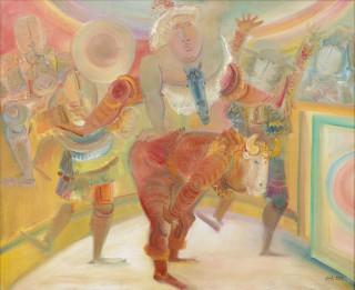 Blasco Mentor, saute mouton, tableau
