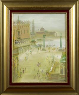 Blasco Mentor, Venise, tableau