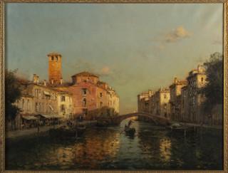 Eloi Georges Bouvard, vue de Venise