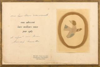D'après Georges Braque, lithographie