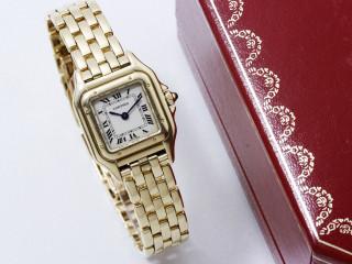 Cartier, montre Panthère or