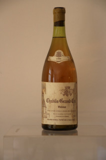 Chablis grand cru valmur, vins et alcools,
