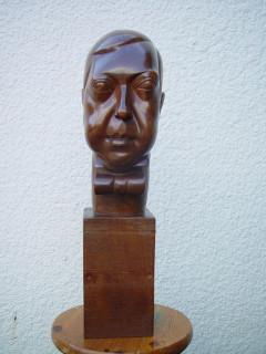 Chana Orloff, Lucien Vogel, sculpture en bois
