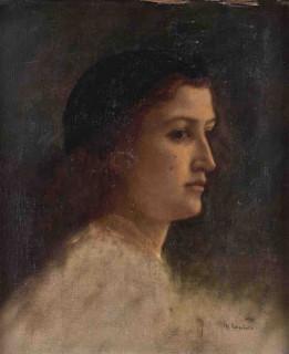 Charles Landelle, portrait, tableau