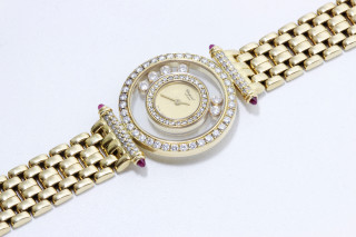 Chopard, Montre Happy Diamonds