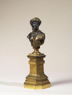 Auguste Clésinger, jeune femme antique, bronze