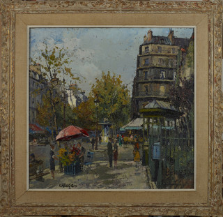 Constantin Kluge, Paris, boulevard Saint Germain