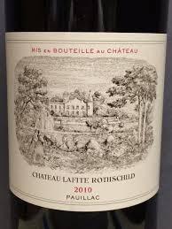 Quelle cote pour un Château Lafite Rothschild ?