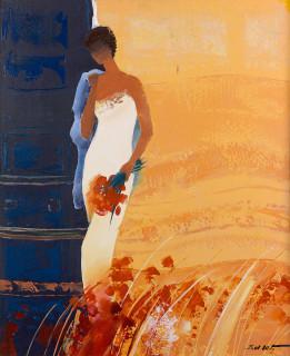 Emile Bellet, heure dorée, tableau