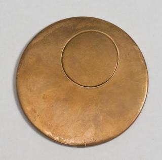 Emile Gilioli, la lune et le soleil, sculpture en bronze