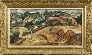 Emile Othon Friesz, Paysans au champ, tableau