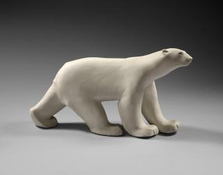 François Pompon, ours blanc, sculpture