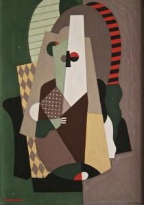 Georges Valmier, composition, gouache