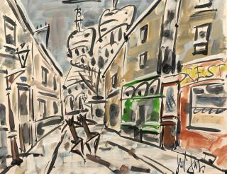 Gen Paul, Montmartre, tableau