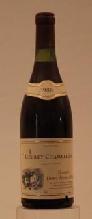 Gevrey Chambertin, vin