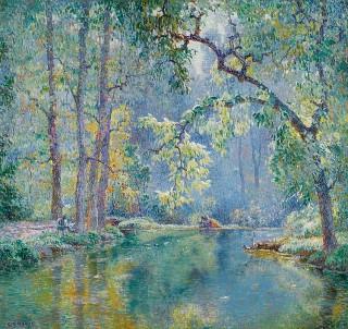 George Loftus Noyes, un peintre impressionniste américain