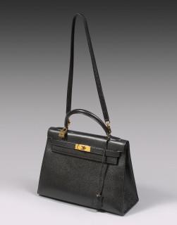 Hermès, sac Kelly noir