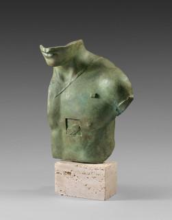 igor Mitoraj, Aesclepios, bronze, vente aux enchères