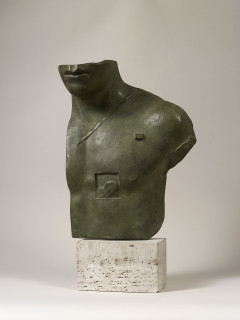 Igor Mitoraj, Aesclepios, bronze, vente enchères