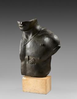 Igor Mitoraj, Aesclepios, bronze signé et numéroté