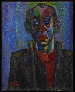 Isaac Pailes, portrait, tableau