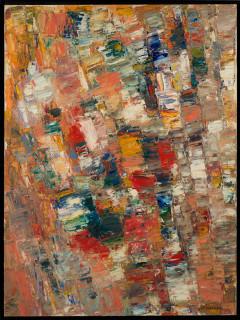 Jacques Germain , grande composition, tableau